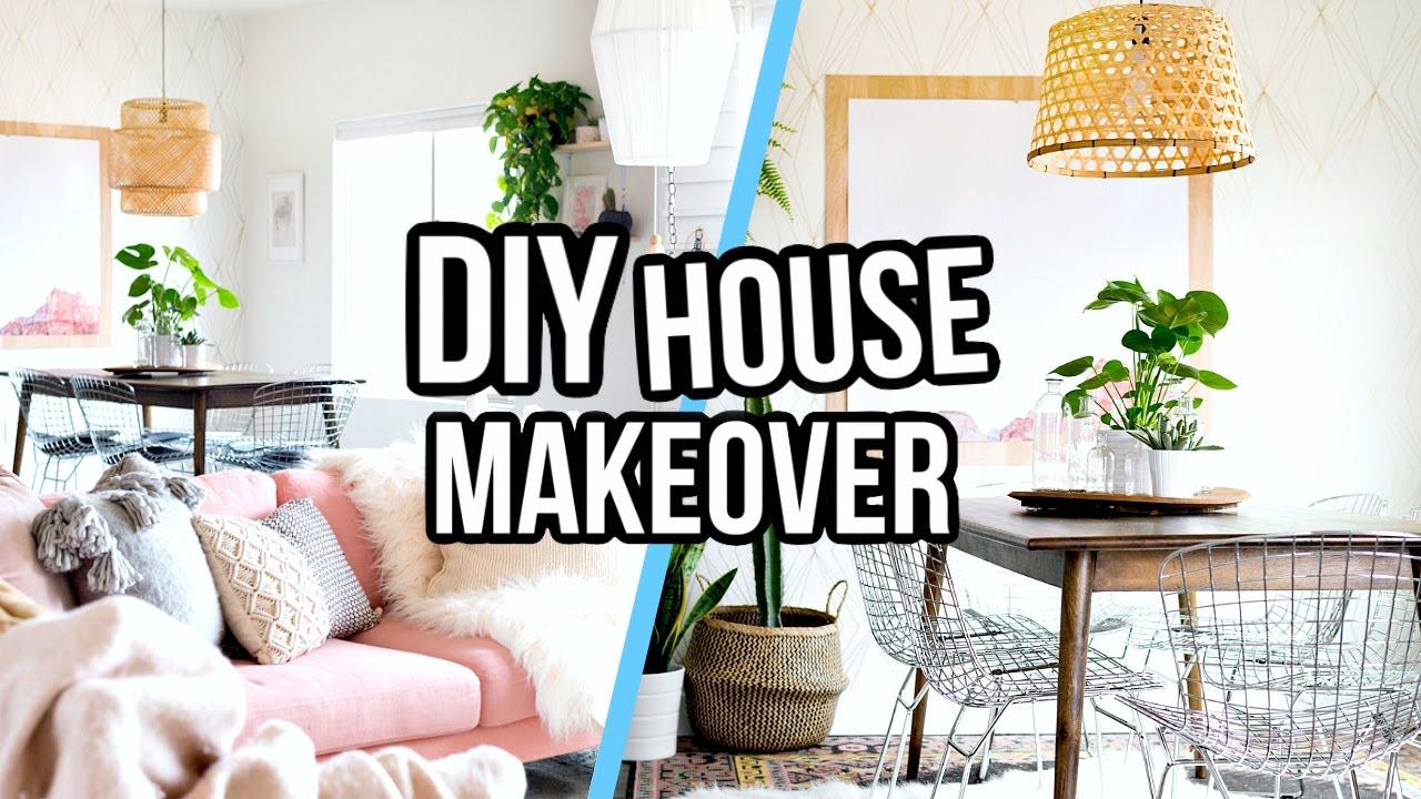 Diy Pinterest Inspired House Makeover Aspyn Ovard Youtube