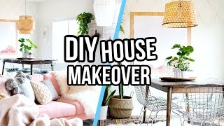 DIY PINTEREST INSPIRED HOUSE MAKEOVER! | Aspyn Ovard