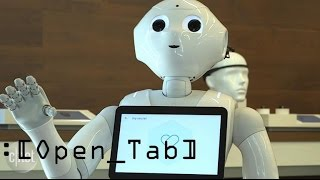 Robots can now be your in-store greeter, what jobs should they take next? (Open_Tab)