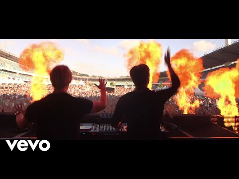 The Killers vs CAZZETTE - Shot At Night (Live Video)