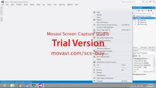 How to create HTML project on visual studio
