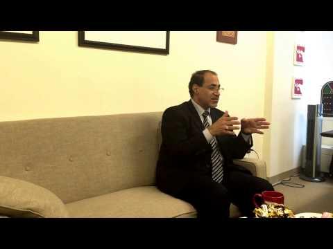 Mohamed al-Tajer Discusses Anti-Terrorism Legislation in Bahrain
