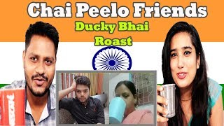 Indian Reaction On HELLO FRIENDS CHAI PILO MUST BE STOPPED By Ducky Bhai | Krishna Views
