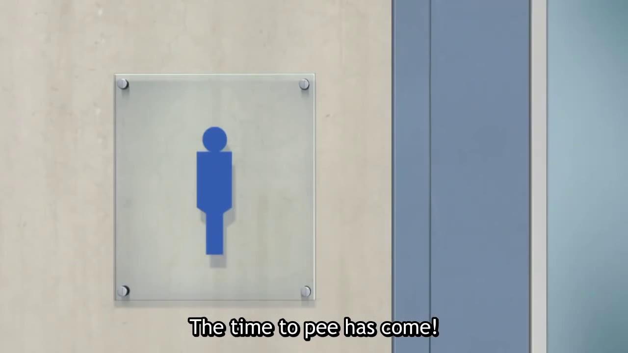 Haikyuu Season 1 Bathroom Song Very Funny Youtube