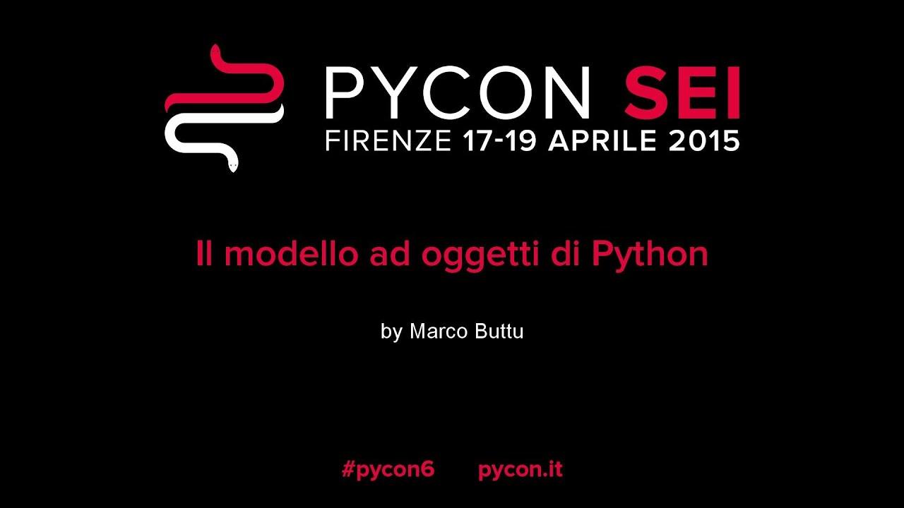 Image from Il modello ad oggetti di Python