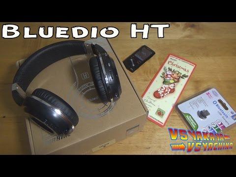 Беспроводные наушники Bluedio HT (Bluedio H turbine) и адаптер Bluetooth USB 2.0