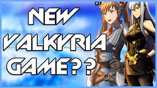New Valkyria Chronicles Game To Be Announced?