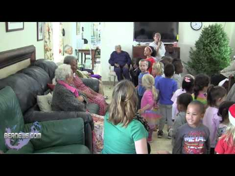 Little Learners Sing At Lorraine Rest Home, Dec 11 2012