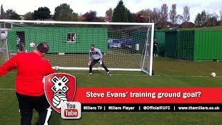 Steve Evans Talks About His Training Ground 5-a-side Success