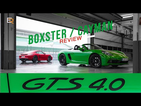 NEW 718 Porsche Boxster/Cayman GTS 4.0 Road And Track Review - The Boxer 6 Is Back!