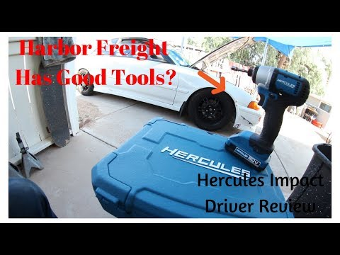 Harbor Freight Got Better! (Herules Impact Driver Review)