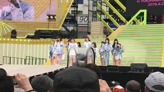 春フェス HKT48 意志