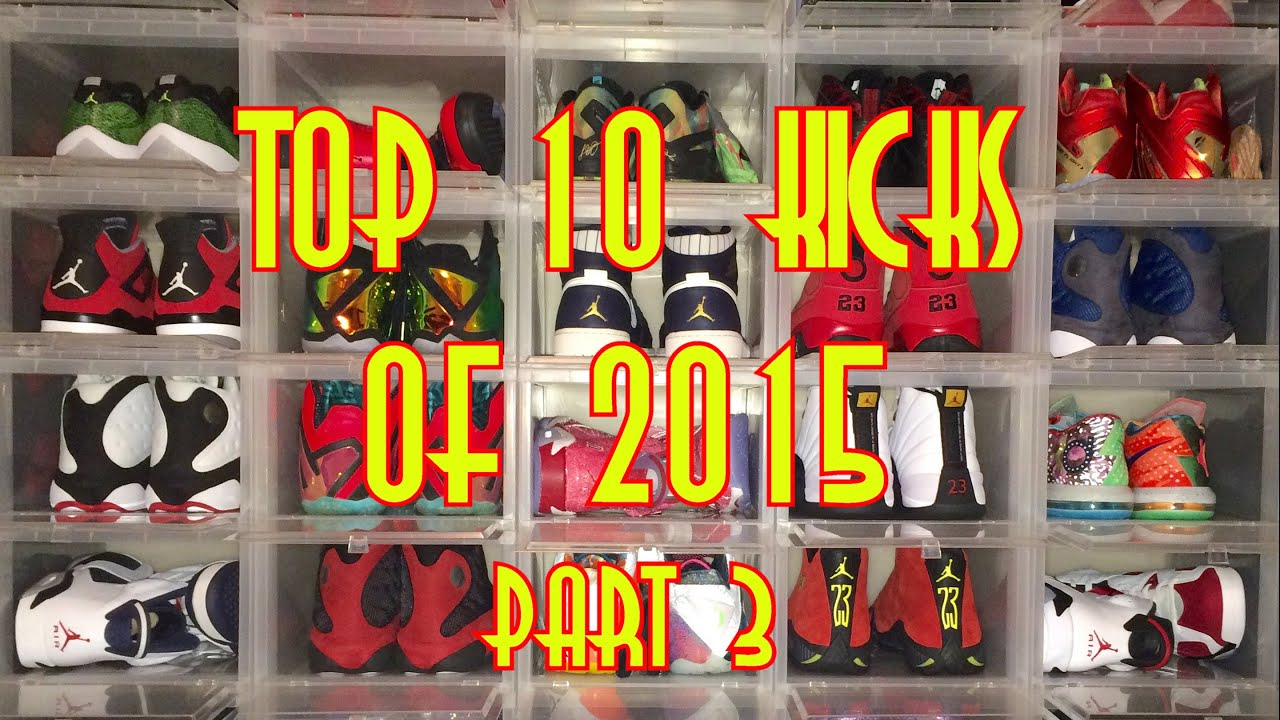 8996bfe791e Top 10 Sneakers of 2015 Part 3 Jordan Releases  air trafficking Sneaker  Collection   Top 15   2016