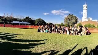 横浜港シンボルタワーで開催のドゥードル新年会にオーストラリアンラブ...
