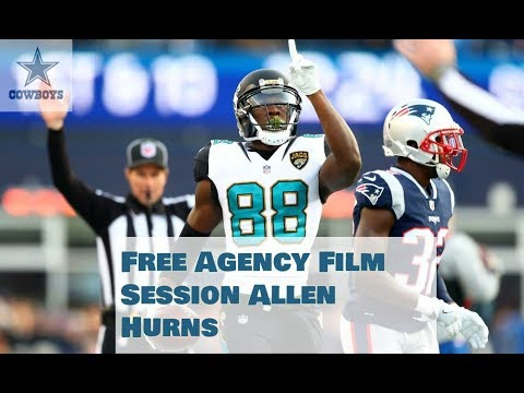 || Film Session || Dallas Cowboys Free Agent Allen Hurns ||