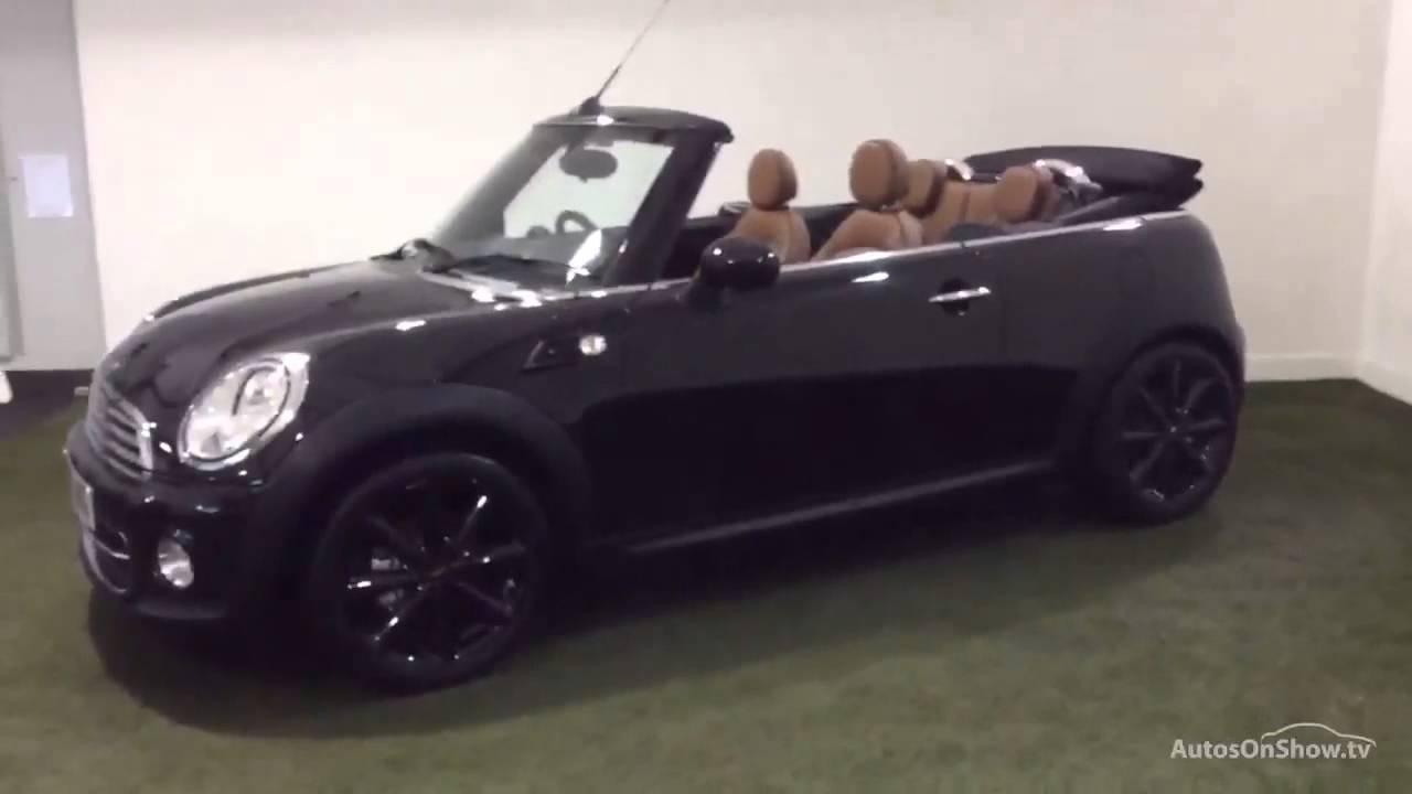 Mini Convertible Cooper Black 2017