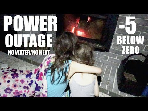 POWER OUTAGE| NO HEAT | NO WATER| ALASKAN WINTER| VLOGMAS DAY 16| Somers In Alaska Vlogs