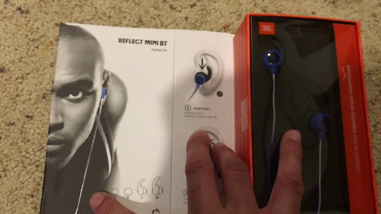 a5eb5d981ea $99 Bluetooth Wireless Headphones | JBL Harman Reflect Mini BT | Unboxing &  Review - YouTube