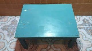 حصريا / طريقة تحويل طاولة قديمة الى تحفة مبهرة 😍