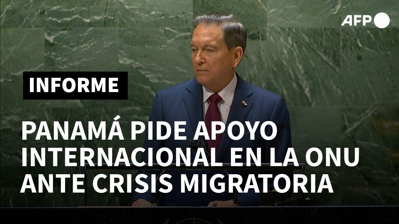 Download Panamá pide apoyo en la ONU para atender ola migratoria haitiana   AFP