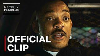 Bright   Car Chase Shootout Scene   Netflix