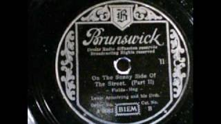 On The Sunny Side Of The Street Louis Armstrong Brunswick 1934