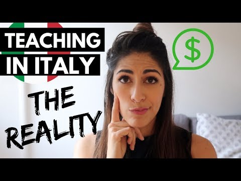 TEACHING ENGLISH IN ITALY: THE REALITY