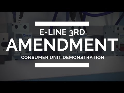 Europa Components | E-Line 3rd Amendment Consumer Unit Demonstration