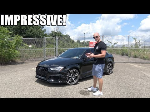 The 2018 Audi RS3 is UNBELIEVABLE! (APR Stage 1, 542HP/500TQ E85)