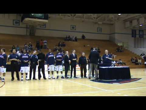 Robert Morris Colonials Basketball Championship Ring Ceremony 2009.MPG