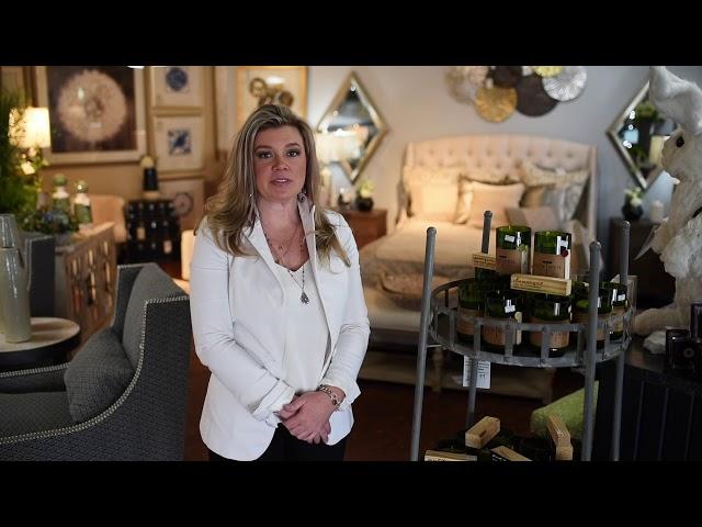 Sacksteder's Interiors | Nesting Tables & Candles
