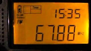 FM DX: 67.88 MHz UR 1 Cherkasy Ukraine presumed (Sporadic-E 29 June 2012)