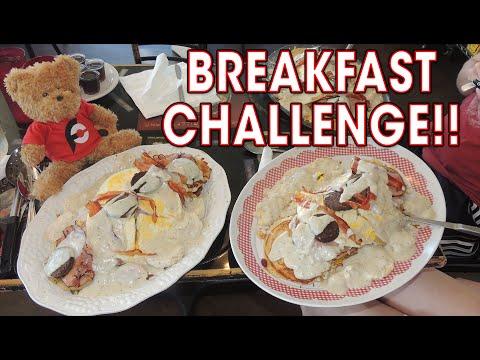 WOMAN DOMINATES 5LB BREAKFAST CHALLENGE!!