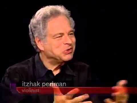 Charlie Rose interviews Itzhak Perlman