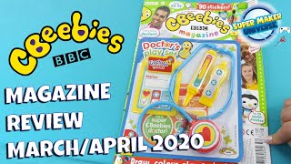 CBeebies Magazine Review March/April 2020