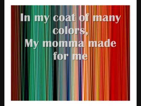 Dolly Parton- Coat of many colors (with lyrics)