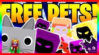 🔴 🐱 TIER 18 DARK MATTER PETS GIVEAWAY! GIANT CAT PET & DARK MATTER DOMINUS HUGE (Roblox LIVE)