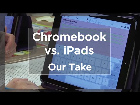 Tech EDGE, Mobile Learning In The Classroom - Episode 21, Chromebook vs. iPads
