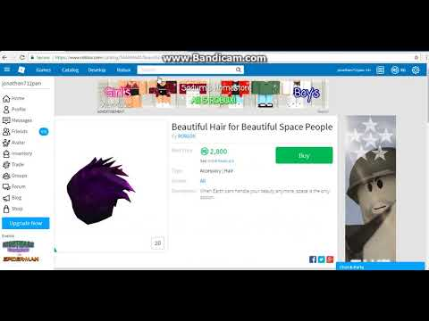 Roblox Trading 1 Sending On Space Hair Youtube