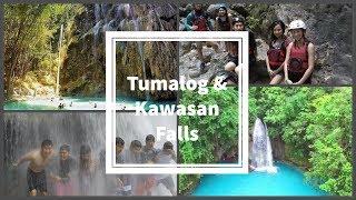 Tumalog Falls and Kawasan Falls