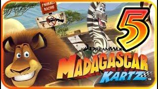 DreamWorks Madagascar Kartz Part 5 Gameplay Walkthrough (PS3, X360, Wii) Penguins
