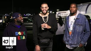 JaVale McGee's Parking Lot Chronicles Episode 2: Mistah F.A.B, Kevin Durant, and More