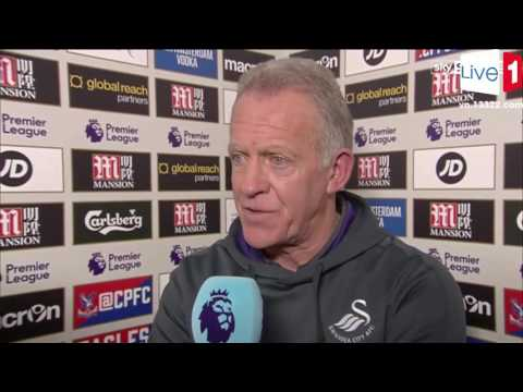 Crystal palace vs Swansea 1-2 ► Alan Curtis Post Match interview ► EPL 2016 HD