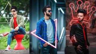 Photoshop CC | Neon glowing effect | Instagram viral photo editing | photoshop tutorial
