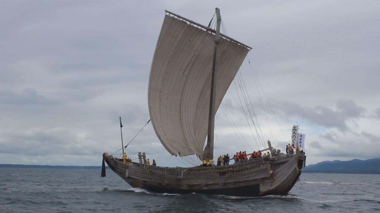 北前船、陸奥湾に勇姿 2億円かけ...