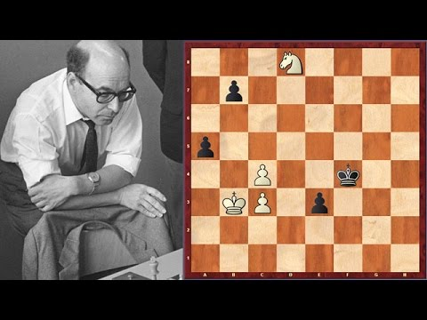 David Bronstein's Most Memorable Blunder At The World Championship Match (1951)