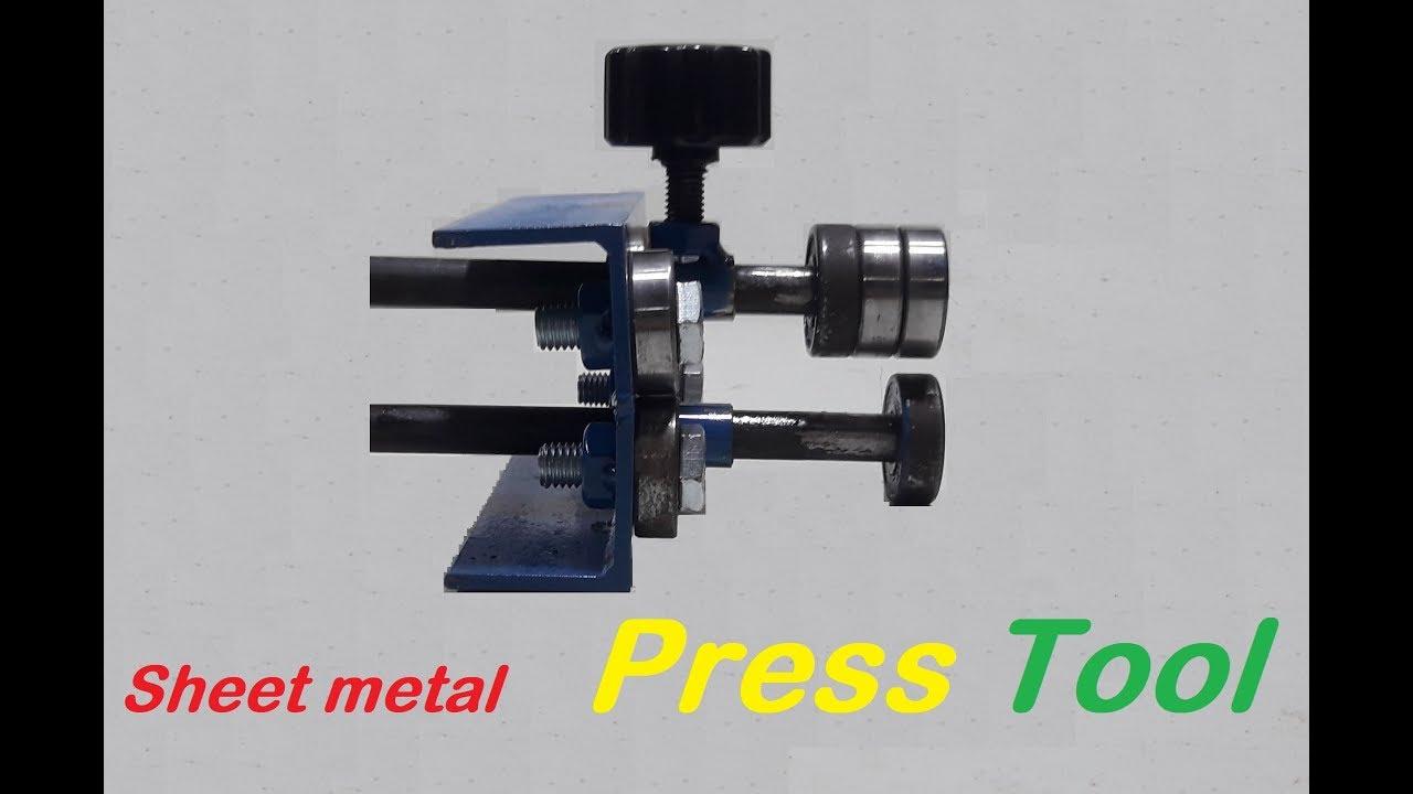 Amazing Tool How To Fold Sheet Metal Homemade Sheet