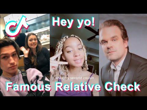 Famous Relative Check | TikTok Compilation #5
