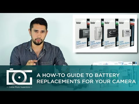 TUTORIAL | Lithium Batteries and Chargers for CANON, NIKON, SONY, GoPro and Other Cameras