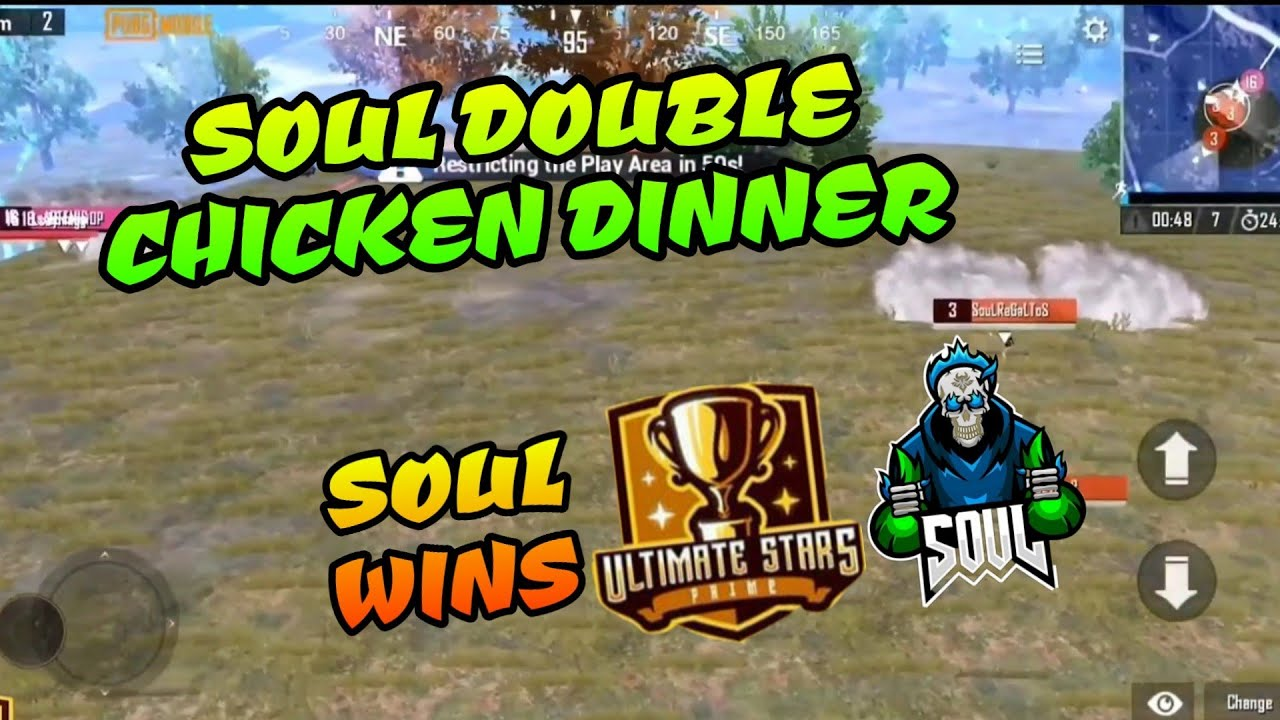 Soul Wins Prime Ultimate Stars With Double Chicken Dinner Upthrust Esports Pubg Mobile Highlights